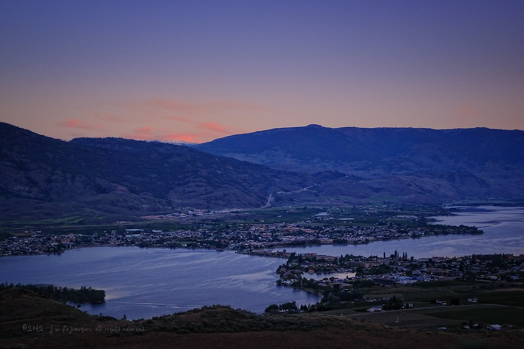 Sunrise Over Osoyoos