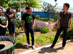 Ian Somerhalder Creek Cleanup & Press Conference @ Compton High School photo by Heal the Bay