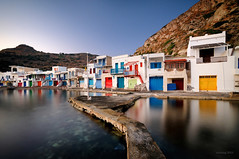 Klima, Milos Island photo by alexring