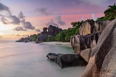 La Digue sunset - Seychelles photo by lathuy
