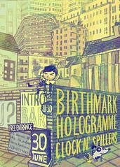 birthmark gig poster photo by crosti