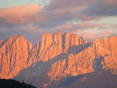 Tramonto sul Latemar  -  Sunset on Latemar photo by Cristina 63