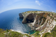 Blue Grotto Malta photo by Allard Schager