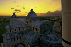 Pisa Cathedral Sunset photo by James Woodward