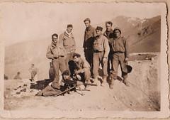 printemps 1945- Authion- Col de Raus- BM 21Raus  - Col. P. Ruiz