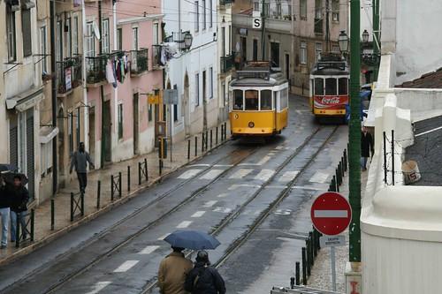 Lisboa: tranvias