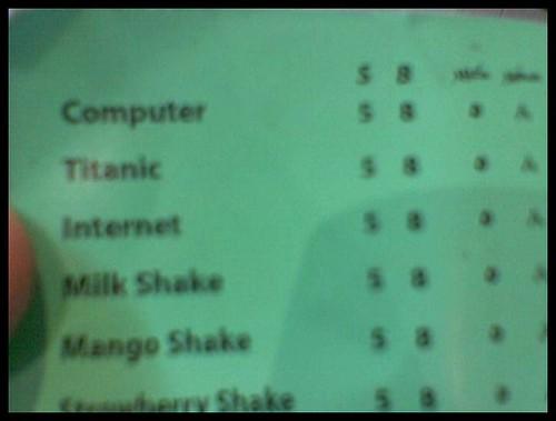 Computer, Titanic & Internet