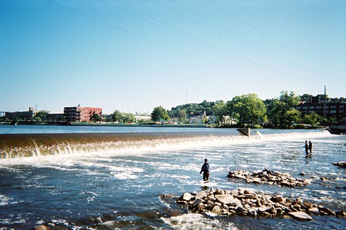 Fishing at the Grand Rapids