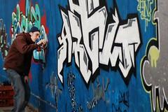 graffiti man photo by bics