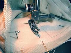 sewing cuff V
