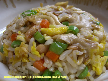 ginger mushroom chic fried rice copy