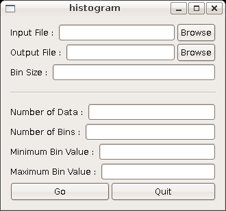 Histogram - Screenshot