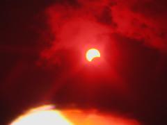 Eclisse di sole parziale