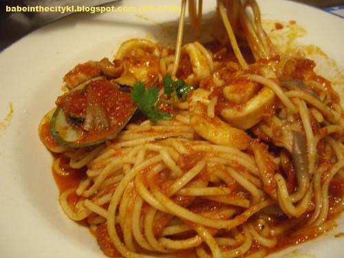 hrc seafood spaghetti