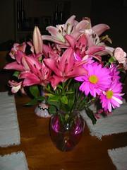 recent floral bouquet