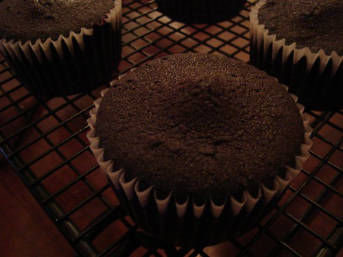 chocolate cupcakes, batch 2
