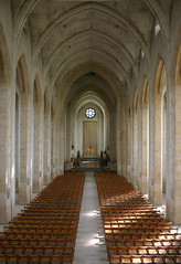 The nave at Guildford Cathedral