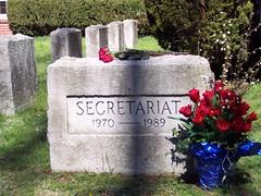 Secretariet grave
