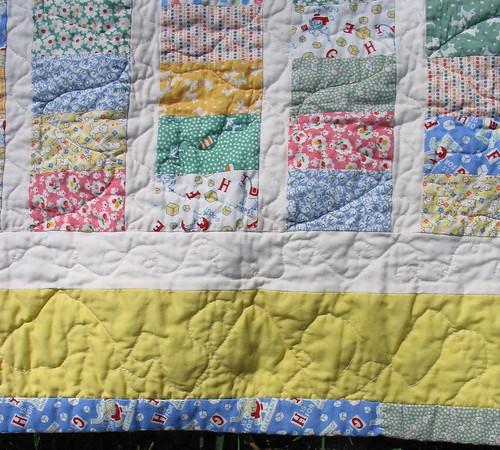 baby henderson's quilt