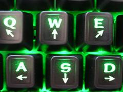 gamer directional keys