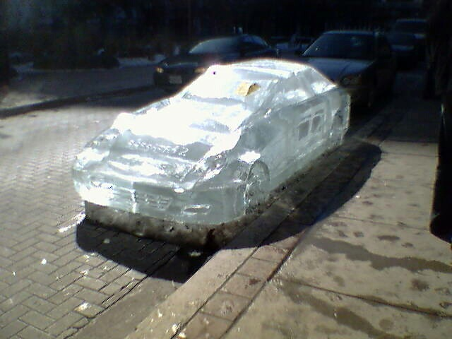 Sassafraz ice car