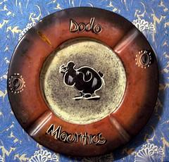 Dodo鸟图案的盘子