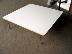 hairpin leg coffee table photo by appleply