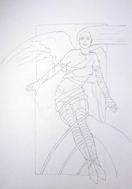 Fallen Angel Working Drawing