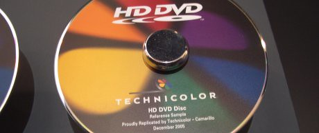 HD DVD disc prototype