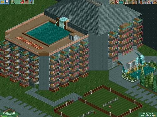 Hurk Grove Resort [RCT2] : Roller Coaster Tycoon 1, 2 & 3