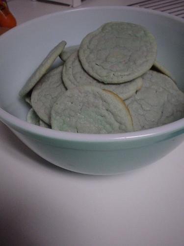 Blue(ish) cookies