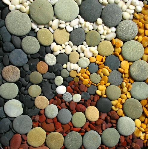 spiral of rocks