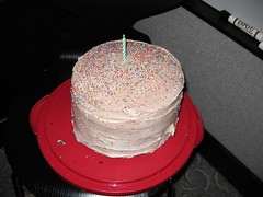 Photo of Peanut butter nutella cake for Jody Thomas