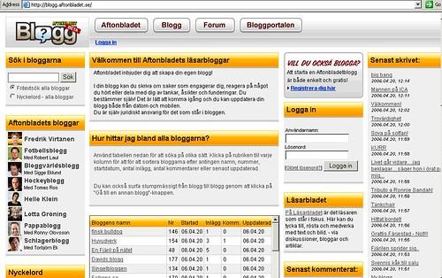 aftonbladet blog