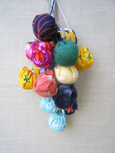 fabric-bead buds