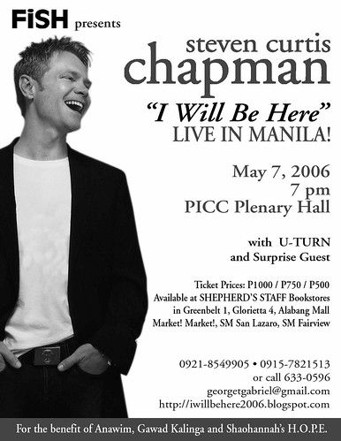 """Original singer of hit love song """"I Will Be Here"""" -- live ..."""