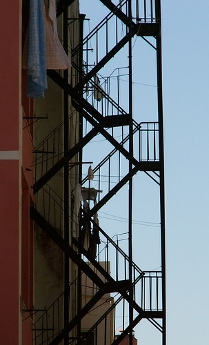 Lisbon - Fire escapes