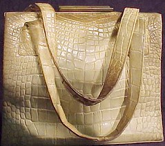 Crocodile Purse