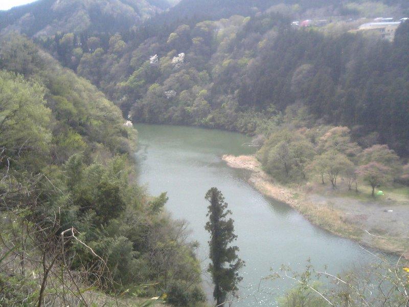 A river near the mountain