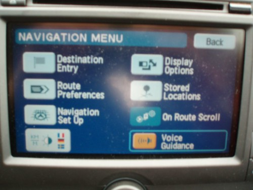 The Ford Focus on-board navigation system – Jaanus