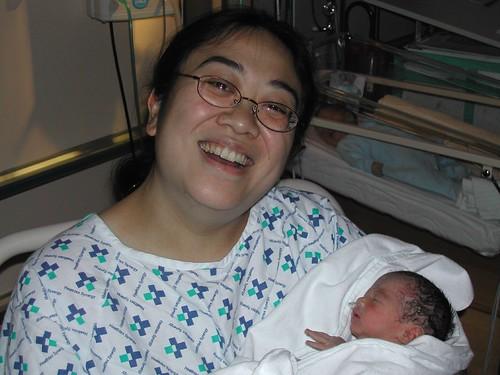 Lauren and Mama