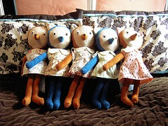 Row of Bears