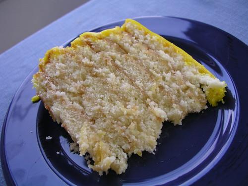Lemon Doberge Cake