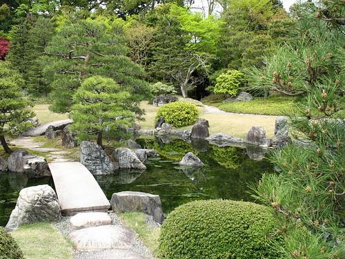 Kyoto - Nijo Castle, jezero
