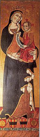 tabla de Daurer, Virgen de Teotokos