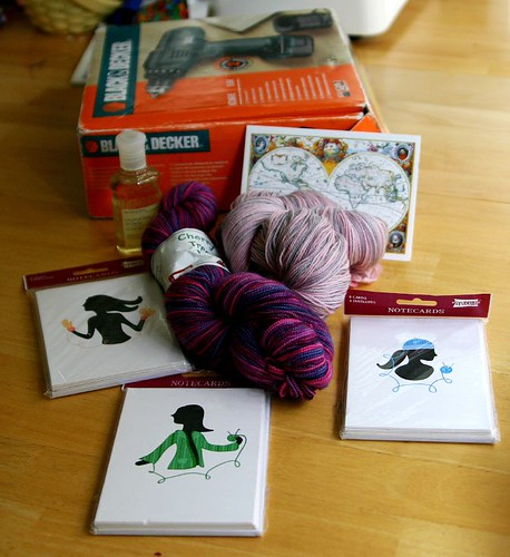 The goods from Yarn Aboard!