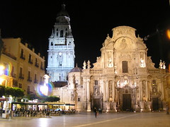 Murcia cathedral square