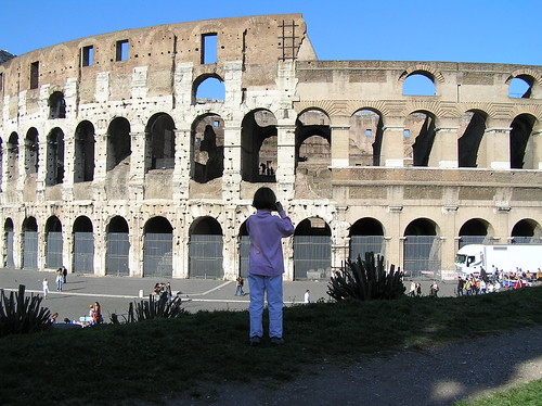 Maddie and the Colosseum