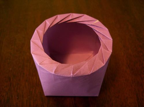Fujimoto Cube with Hexakaidecagonal Iris Closure