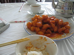 I hated this meal (sweet and sour chicken)